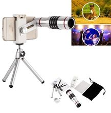 On sale ZEALLION Phone Camera Lens Kit Universal 18X Telephoto zoom telescope Lens Camera With Tripod