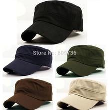 1PC Classic Women Men Snapback Caps Vintage Army Hat Cadet Military Patrol Cap Adjustable Outdoors Baseball Unisex Hats New 2014