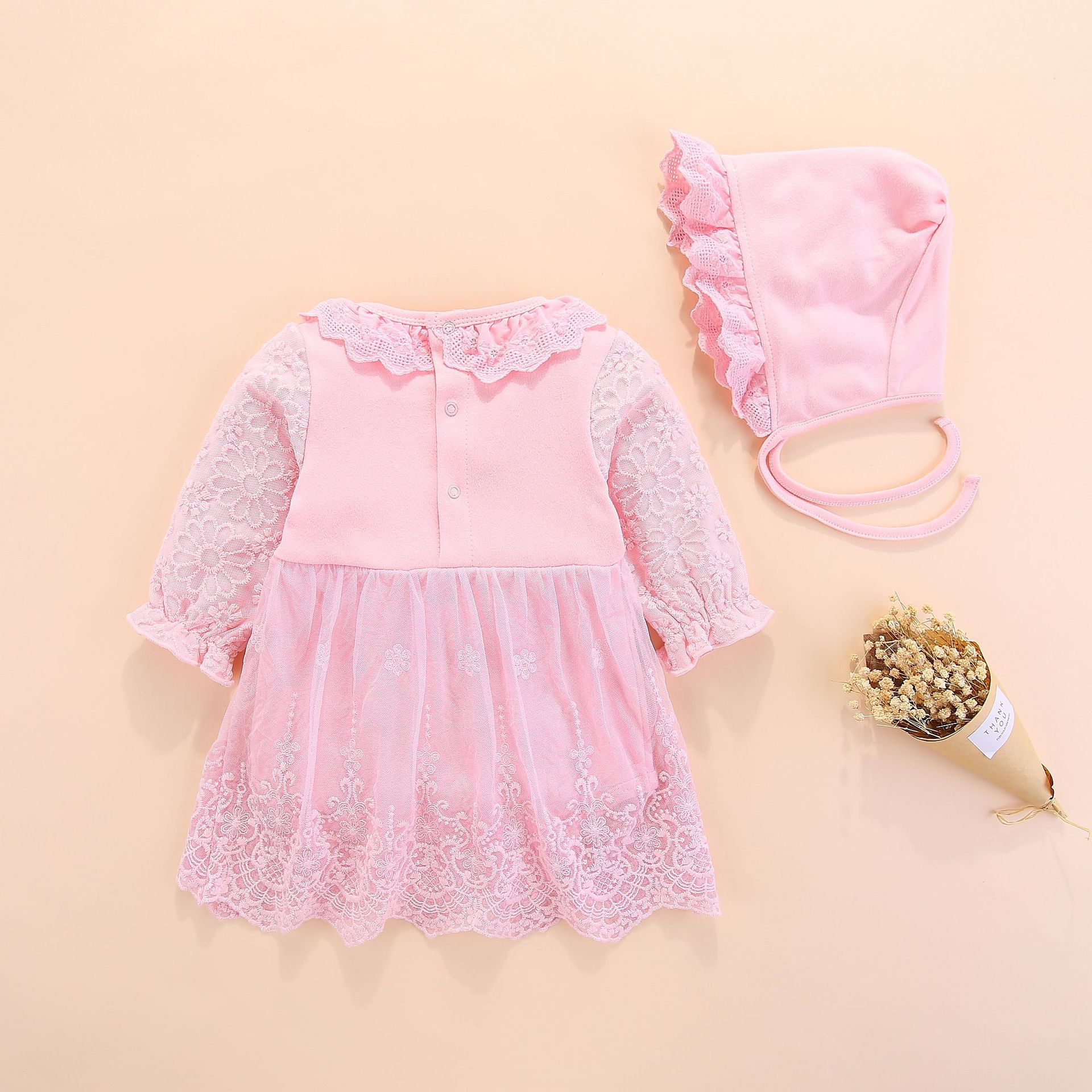 05ba404992 Flor de la boda de las niñas vestido de bebé niñas bautizo vestidos pastel  para la