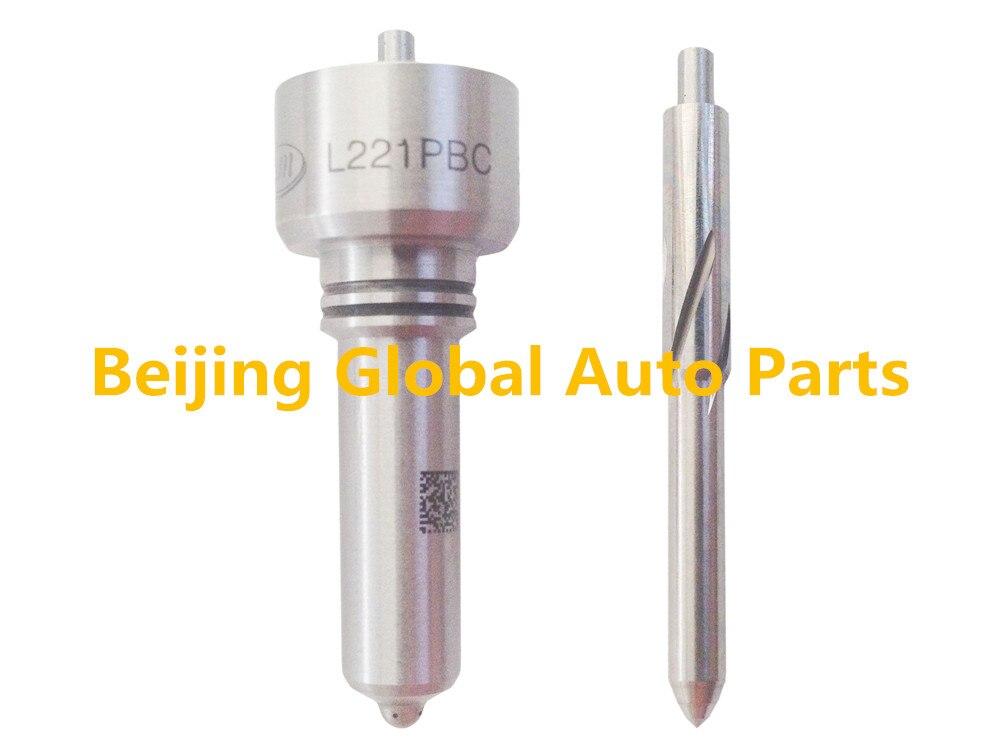 Common Rail Nozzle L221pbc Op Vol Vo Motor Hoge Kwaliteit Dieselmotor Brandstof Cri Injector Sproeikop L221pbc