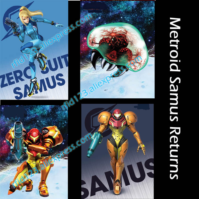 NTAG215 Printed NFC Card Written By Tagmo Can Work For Switch Latest Data Metroid Samus Returns
