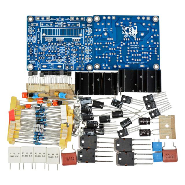 AIYIMA 2PCS MX50 SE 100WX2 Dual Channels Audio Power Amplifier Board HiFi Stereo Amplifiers Diy Kit