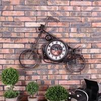 Большие настенные часы Saat Reloj настенные часы Relogio де Parede Horloge Murale Reloj де сравнению мотоциклетные Часы настенные украшения клок
