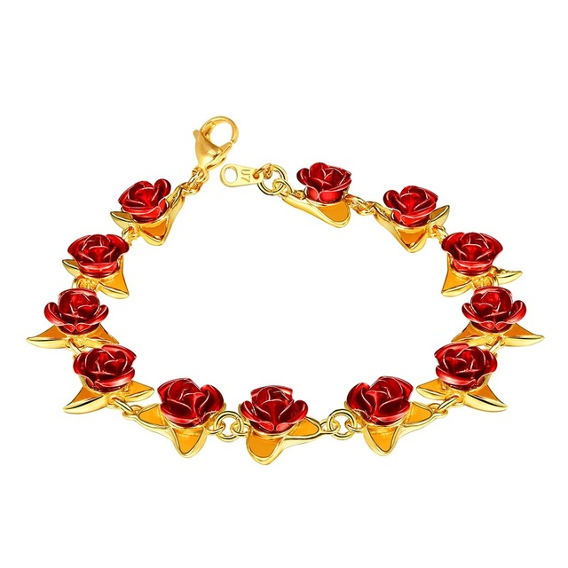 U7 Red Rose Flowers...