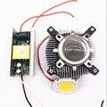 100 Вт LED att Высокая мощность теплый/холодный белый Светодиодный свет + радиатор кулер + 100 Вт Светодиодный драйвер 85-265 в