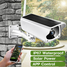 Wireless Solar Outdoor WiFi IP Camera 1080P HD Security Surveillance Audio Home Security Camera Surveillance Waterproof Camara(China)