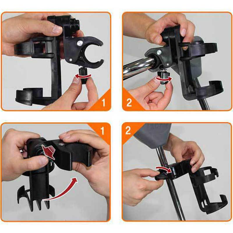 อุปกรณ์รถเข็นเด็กทารกเด็กขวด rack สำหรับถ้วยผู้ถือรถเข็นจักรยาน quick release ผู้ถือขวดน้ำ