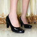women's shoes,genuine leather round toe high heels women pumps,dress shoes for women office shoes,big size shoes 5329-1