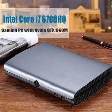 HYSTOU M1 мини ПК Intel Core i7-6700HQ Barebone NVIDIA GTX 960M Win10 с вентилятором type-C S/PDIF 5G Wifi HDMI DP HTPC игровой ПК