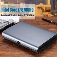HYSTOU M1 Mini PC Intel Core i7 6700HQ Barebone NVIDIA GTX 960M Win10 with fan Type C S/PDIF 5G Wifi HDMI DP HTPC Gaming PC