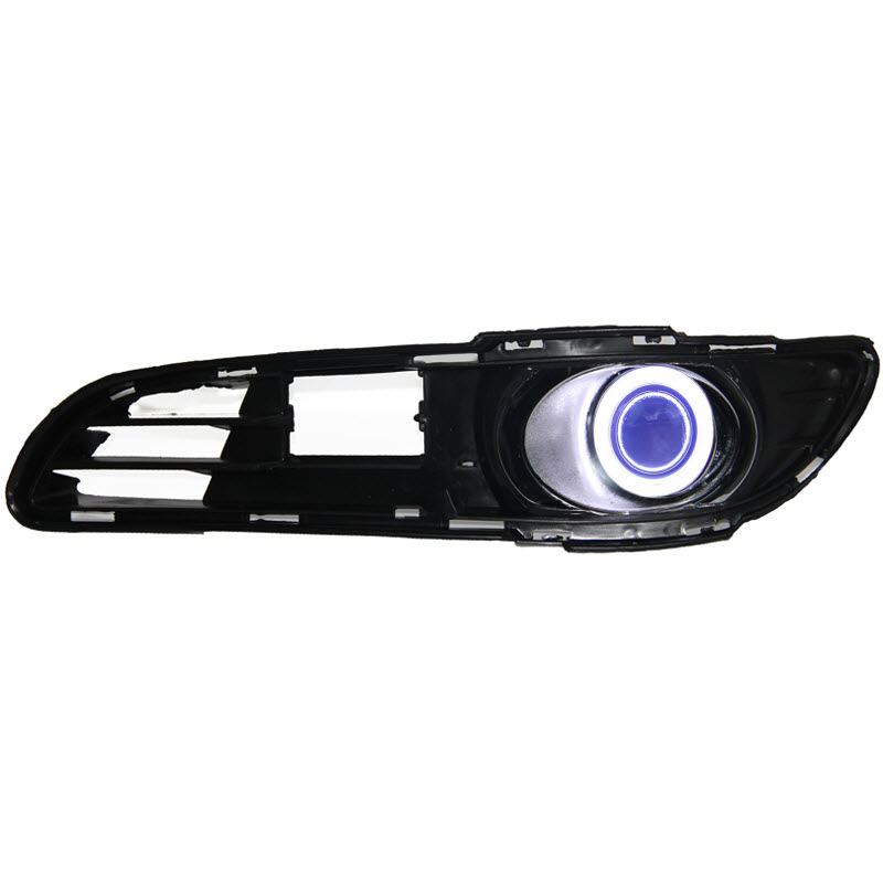 For Toyota Vios Malaysia COB Angel Eyes DRL Yellow Signal Light H11 Halogen / Xenon E13 Fog Lights with Projector Lens