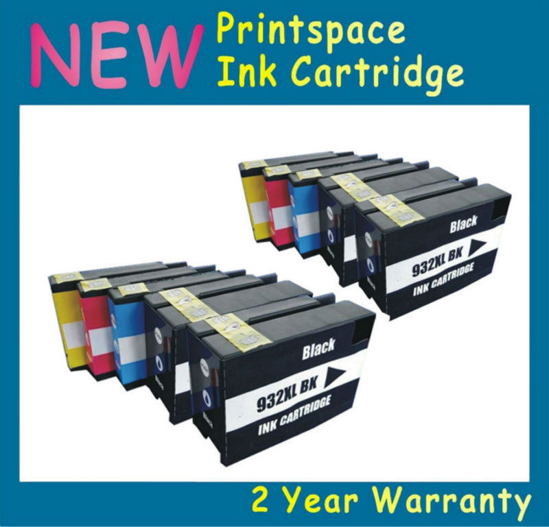10x NEW Ink Cartridges With Chips Compatible For HP932XL HP 932XL HP933XL HP 933XL HP Officejet Pro 6100 6600 6700 7610 7110 2016 new [simon hisaint ink ]applicable hp hp818 cartridges d1668 d2568 f4288 2668 hp818xl excess capacity of 2668 classic