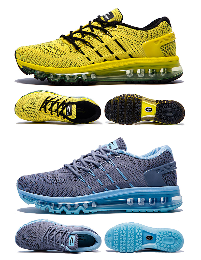 17 Air Cushion Running Shoes Breathable Massage Sneakers Man Jogging Sport Sneakers for Outdoor Walking Shoe Run Comfortable 16