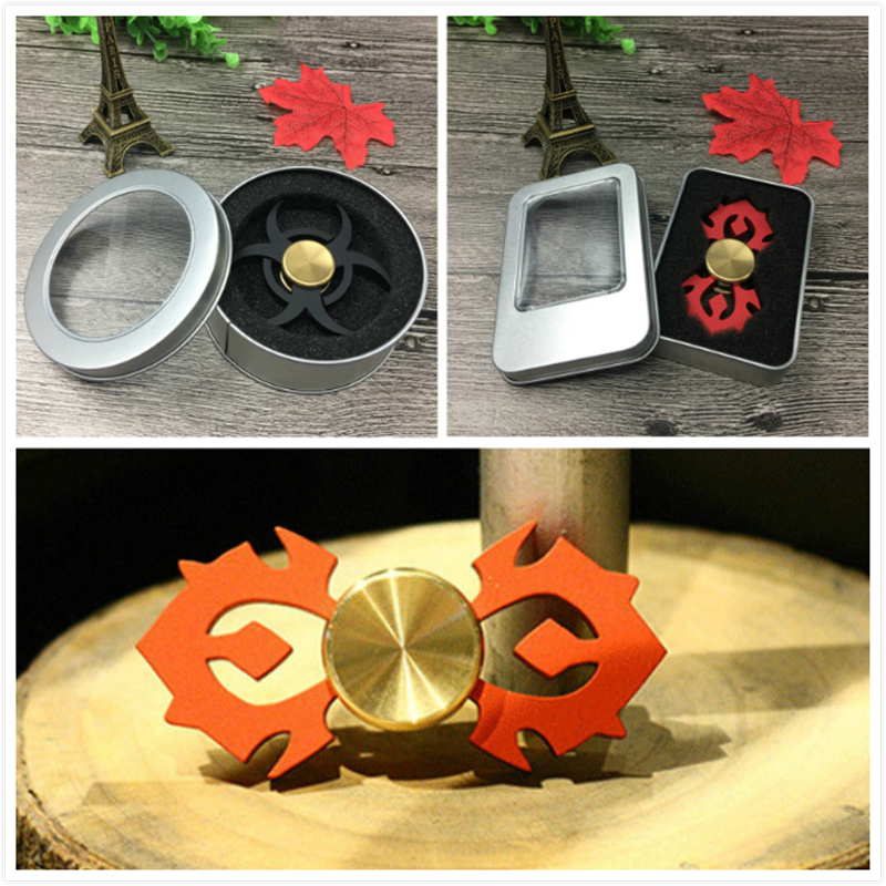 2017 New Hand Spinner Fidget Spinner Stress Cube Hand Spinners Focus KeepToy And ADHD EDC Anti