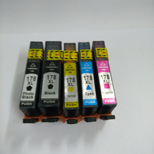 5 шт. для HP 178 картридж для HP 178 Для HP Photosmart 5510 6510 7510 B109a B110a B209a B210a 3070A 3520 Officejet 4610 4620
