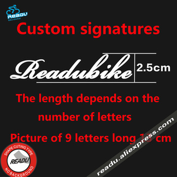 Online Shop Bicycle Stickers Customized Road Bike Mountain Bike - Bicycle stickers custom