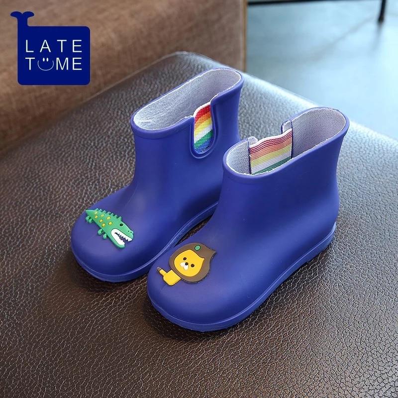 Dwayne nowe antypoślizgowe ciepłe buty kreskówka lew krokodyl - Obuwie dziecięce - Zdjęcie 2