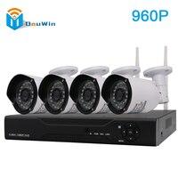 Wireless NVR Kit 4CH 960P HD Wifi IP Camera Outdoor IR Night Vision Security System Surveillance