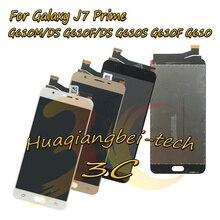 Дешевые Для Samsung Galaxy J7 премьер G610M/DS G610F/DS G610S G610F G610 полный ЖК-дисплей дисплей + Сенсорный экран планшета сборки 100% тестирование