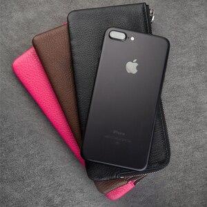 Image 4 - QIALINO – étui portefeuille 2016 en cuir véritable pour iphone 7 et iPhone 7 plus, fait à la main, avec fentes pour cartes, 4.7/5.5 pouces
