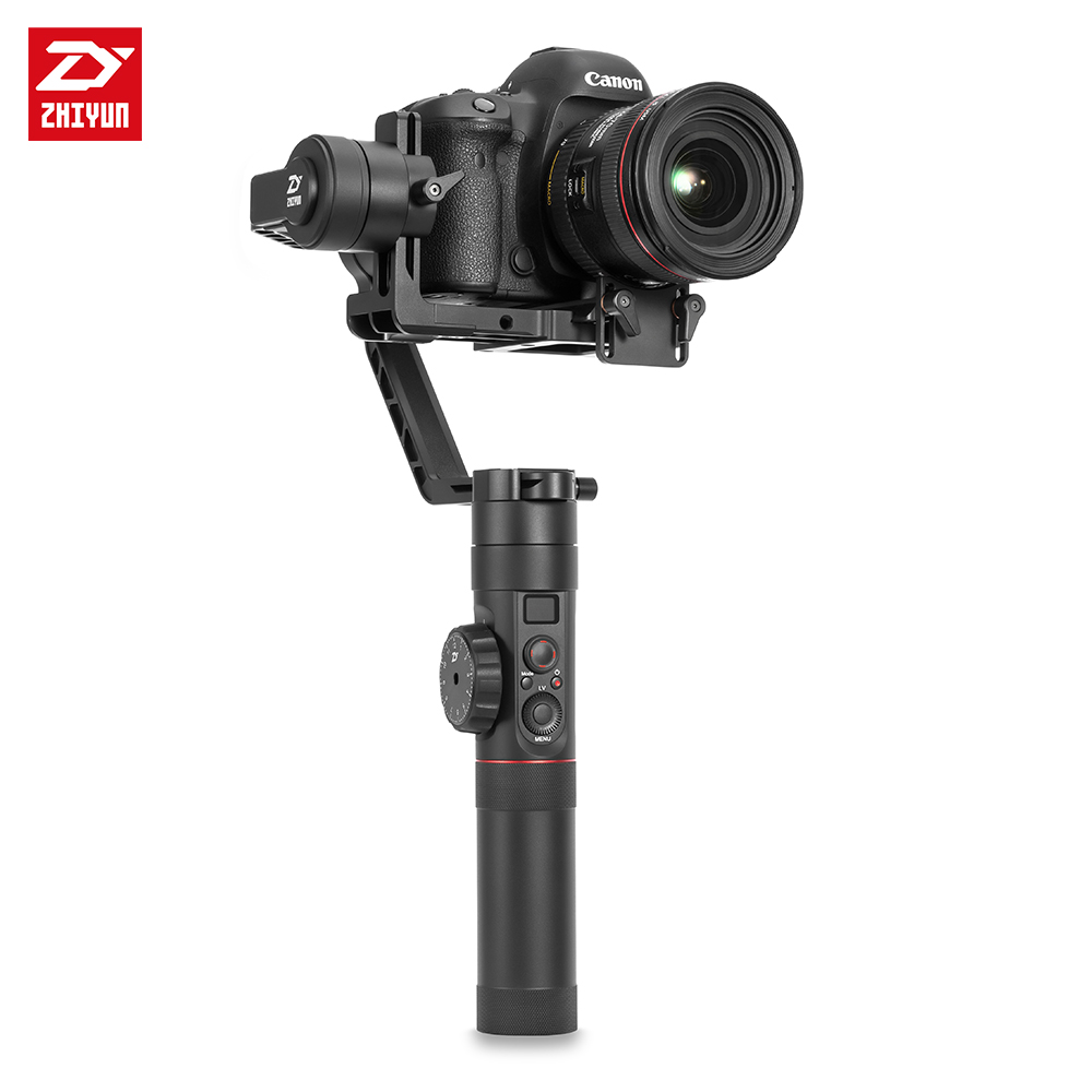 ZHIYUN Crane 2 3-Axis Handheld Gimbal Video Stabilizer with Servo Follow Focus for Canon 5D2 5D3 5D4 GH3 GH4 Sony DSLR Camera 9