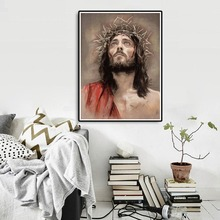 5D Diamond Painting Full Drill Square Religion Mosaic Jesus DIY Embroidery Church Wall Decor SF613