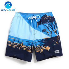 Gailang Brand Beach Shorts Trunks Swimwear Men's Board Shorts Casual Nylon bermudas