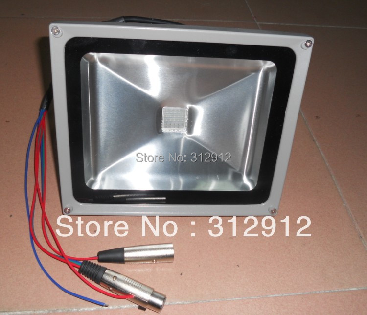 30W RGB DMX flood light,DC24V input;can be controlled by dmx controller directly dmx512 digital display 24ch dmx address controller dc5v 24v each ch max 3a 8 groups rgb controller
