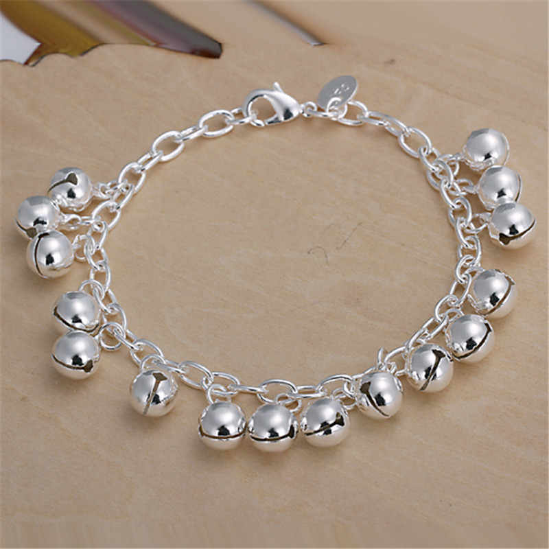 New Delicate Cute Style Small Bell Bracelets Mother\'s Love Hand ...