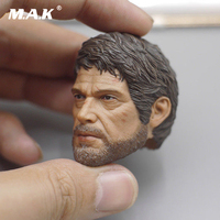 1/6 Scale The Last of Us Joe Head Carving Figure Model head Sculpt Head Carved Model Collectible Doll Toys Accessories