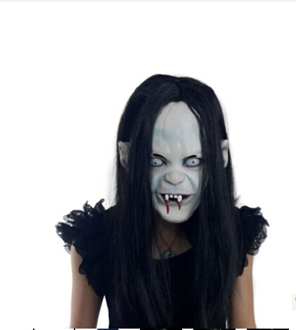 Children's day, Carnival Masquerade party Mask Halloween witch mask horror Sadako ghost mask Grudge horror mask