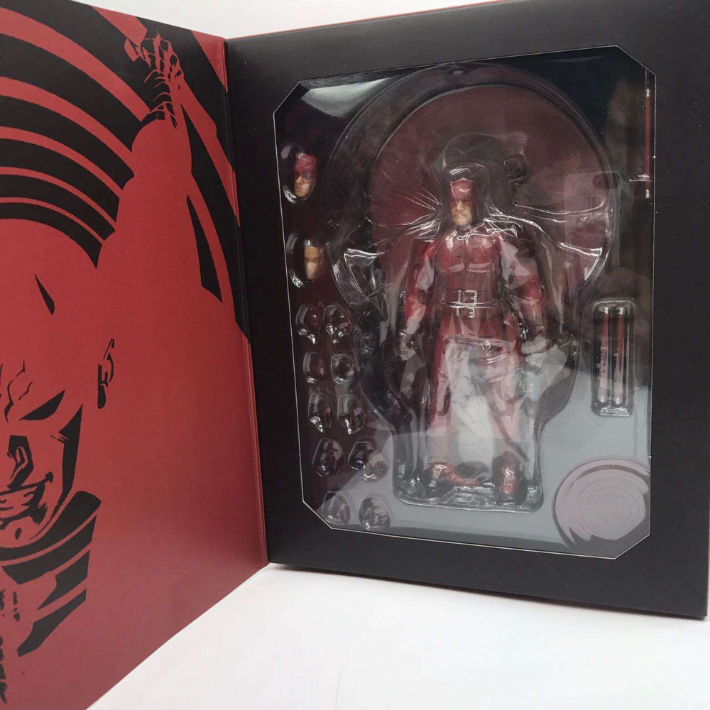 Commoner daredevil 1:12 Edizione Limitata PVC modello di mano action figure цена