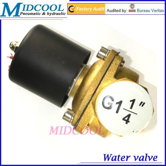 De agua valvula Boutique ac 220V 2W350-35 G1-1/4 Normal Close Type Solenoid Valve for air water oil ac 250v 20a normal close 60c temperature control switch bimetal thermostat