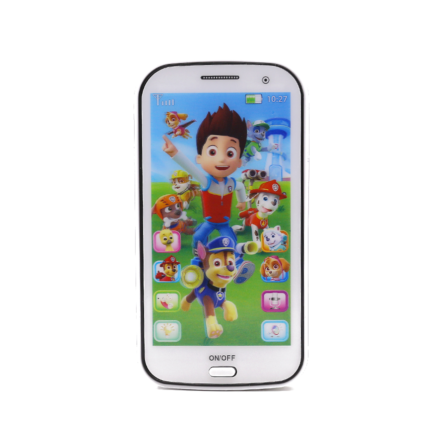 Russian Language Learn Russian Iphone Toy Educational Learning Baby Gift Baby Toy Phone Mobile with Song Light Story Telling