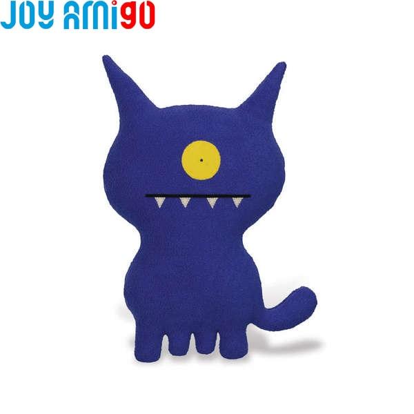 Uglydog Blue-Ugly Dog Puppy Soft Animal Pet Funny Stuffed Cushion Bantal Ugly Doll Monster With One Eye Toothy Cartoon Toy