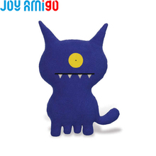 Uglydog Blue-Ugly Dog Puppy Soft Animal Pet Funny Stuffed Cushion Pillow Ugly Doll Monster With One eye Toothy Cartoon Toy
