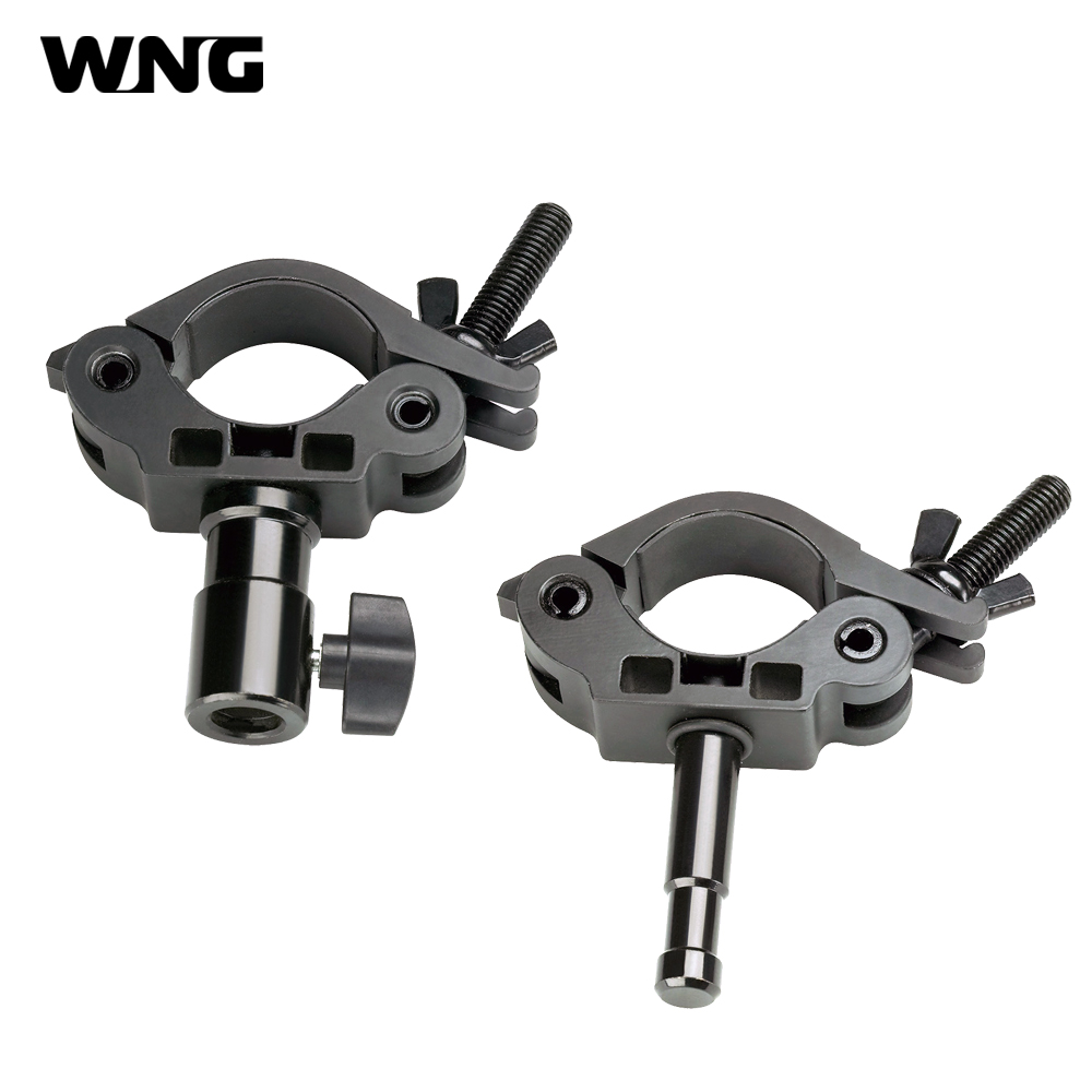 Coupler Clamp Kit with Receiver and Stud 42 50mm for Studio Video Hanging