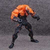Venom Marvel Comics Action Figure Orange Variant Special Edition Icons 7inch 3