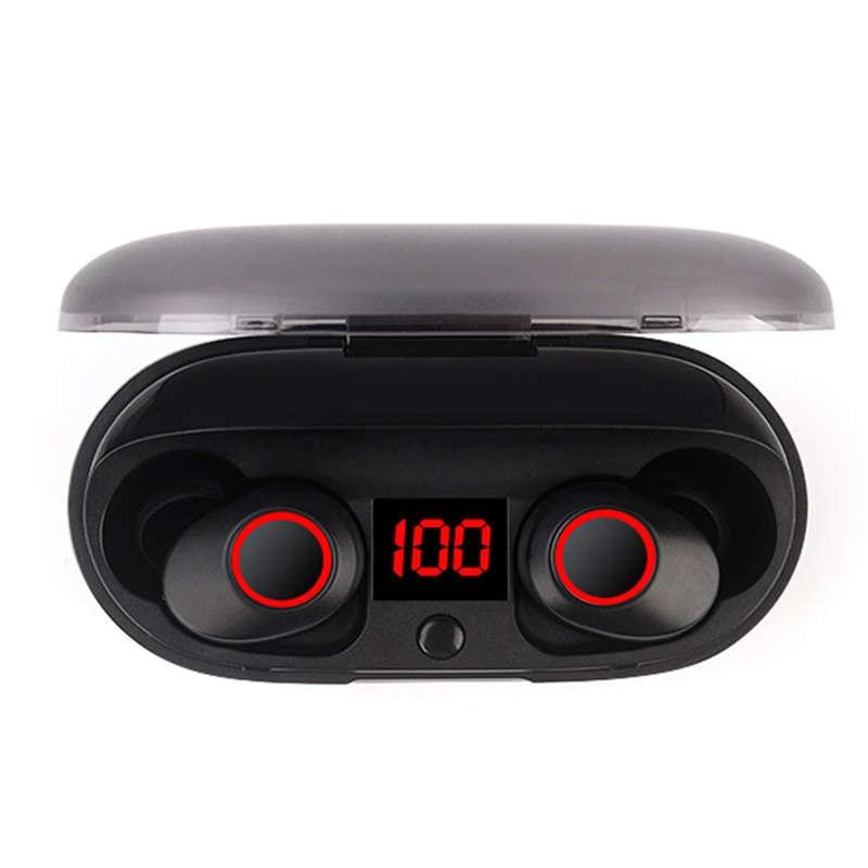 J29 Bluetooth 5.0 Tws Battery Display Mini Wireless Ear Buds Twins Earphone Headphones With Battery Case Hands Free