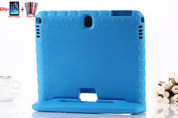 ילדי ידית מקרה עבור Samsung Galaxy Tab 4 T530 EVA כיסוי עבור Galaxy Tab 3 P5200 הערה 10.1 2014 מהדורה p600 Stand כיסוי + Flim