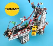 Legoing Spiderman Bridge Battle Lego 1165 Pcs bricks