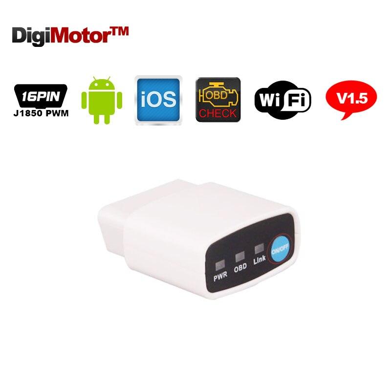 Prix pour ELM 327 V1.5 Wi Fi OBD2 Wifi ELM327 Adaptateur OBD 2 Wi-Fi Android iOS Outil De Diagnostic De Voiture Scanner Automobile Auto Lecteur de Code