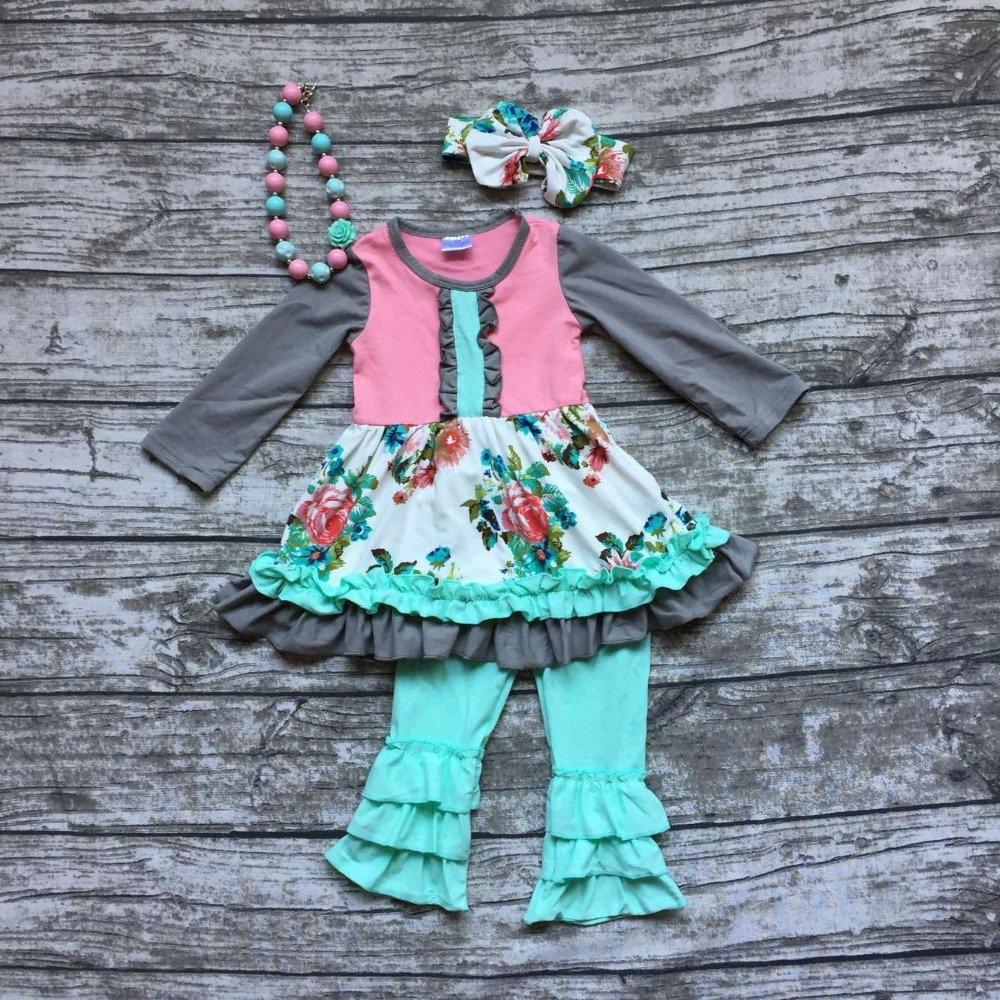 Aliexpress.com : Buy baby girls fall clothing girls floral ...