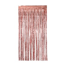 2M Gold Silver Metallic Foil Tinsel Fringe Curtain Birthday Party Decoration Wedding Photography Backdrop Photo Props