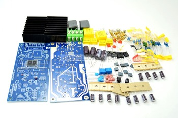 IRS2092 IRFB4019 class D Power amplifier board + speaker + relay protection 300W