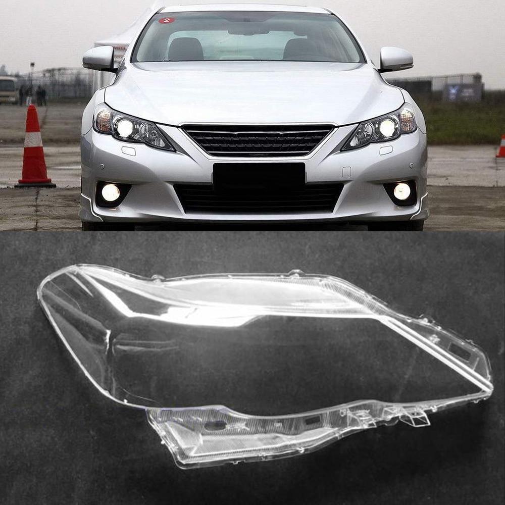 For Toyota Reiz 2010 2011 2012 Car Headlight Headlamp Clear Lens Auto Shell Cover