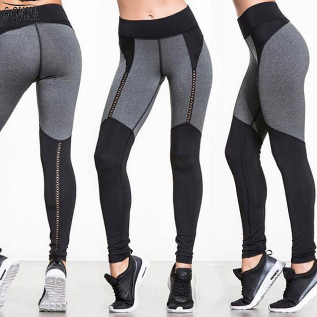 S-QVSIA Women's Fitness Leggings Active Polyester Leggings Girl Bodybuilding Fitness Clothing Adventure Time Leggings Women