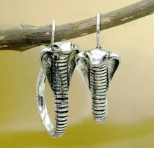 New Zinc Alloy Snake Animal Earring Electroplated S925 Retro Creative Cobra Earrings Factory Direct Wholesale