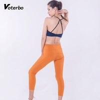 Voterbo 2 Stücke Frauen Sleeveless Hülsen-track-sportmode Leicht Atmungsaktiv Fitness Gym Workout Kleidung für Frauen Active Wear Nahtlose