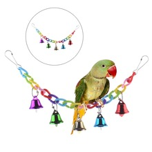 Parrot Swing with Bells